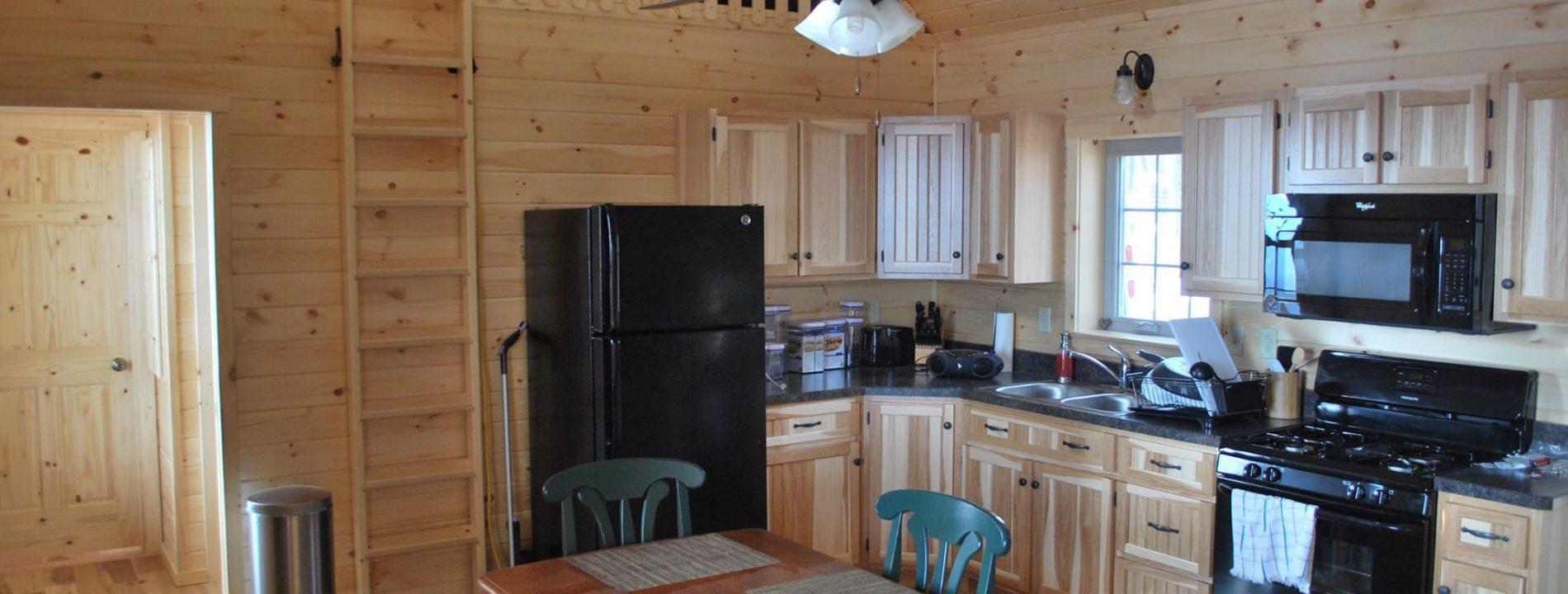 inside zook cabin