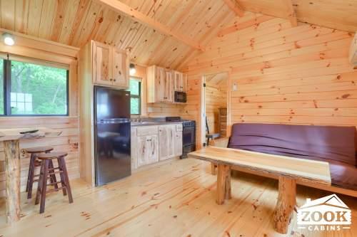 Cabin Trailer Kitchen