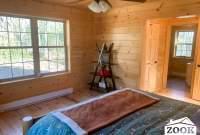 Chalet Cabin Master Bedroom