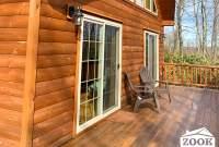 Log Cabin Chalet with a Deck