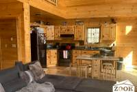 Prefab Chalet with Vaulted Ceilings