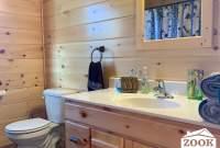 Sink in Log Cabin Chalet