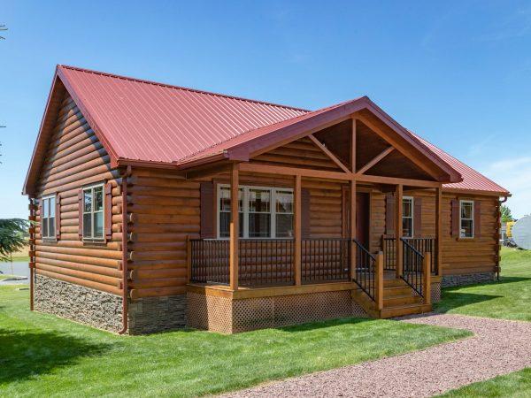 Zook Pioneer log cabin