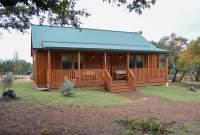 Settler log cabin