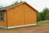 settler cabin exterior