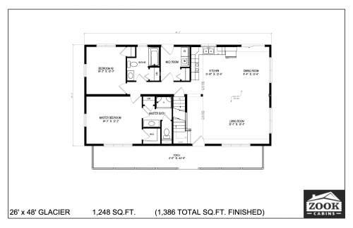 26x48 Glacier 06 28 2021 First Floor