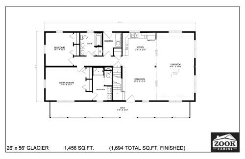 26x56 Glacier 06 28 2021 First Floor