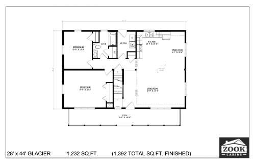 28x44 Glacier 06 28 2021 First Floor