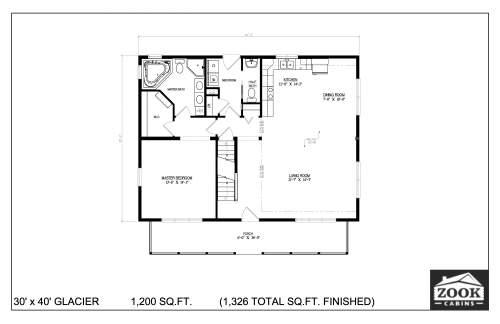 30x40 Glacier 06 28 2021 First Floor