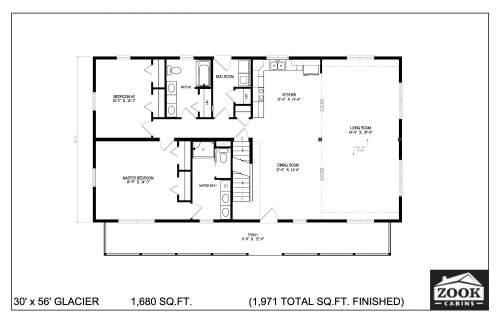 30x56 Glacier 06 28 2021 First Floor