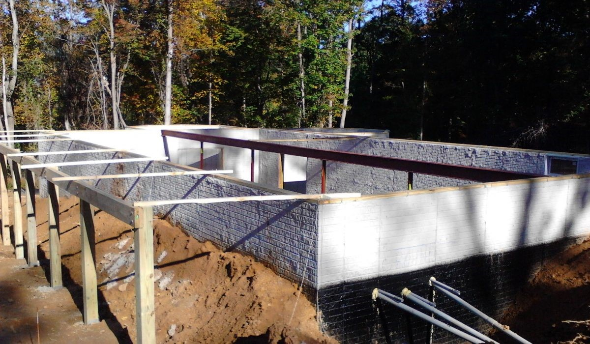 foundation for a cabin in jarrettsville maryland