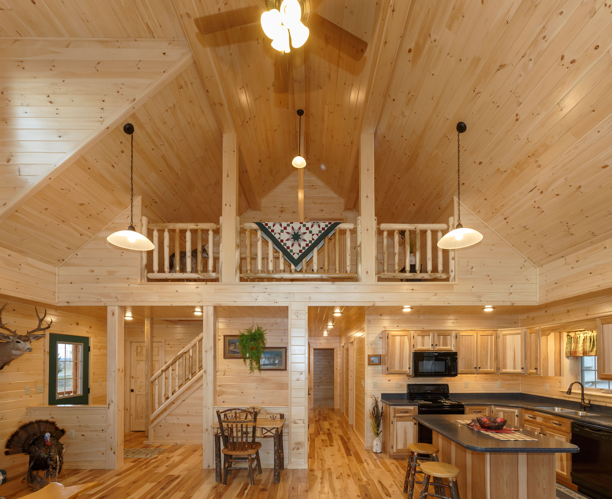 loft of cabin in jewett new york