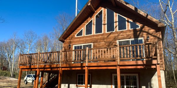 chalet cabin in jim thorpe pa
