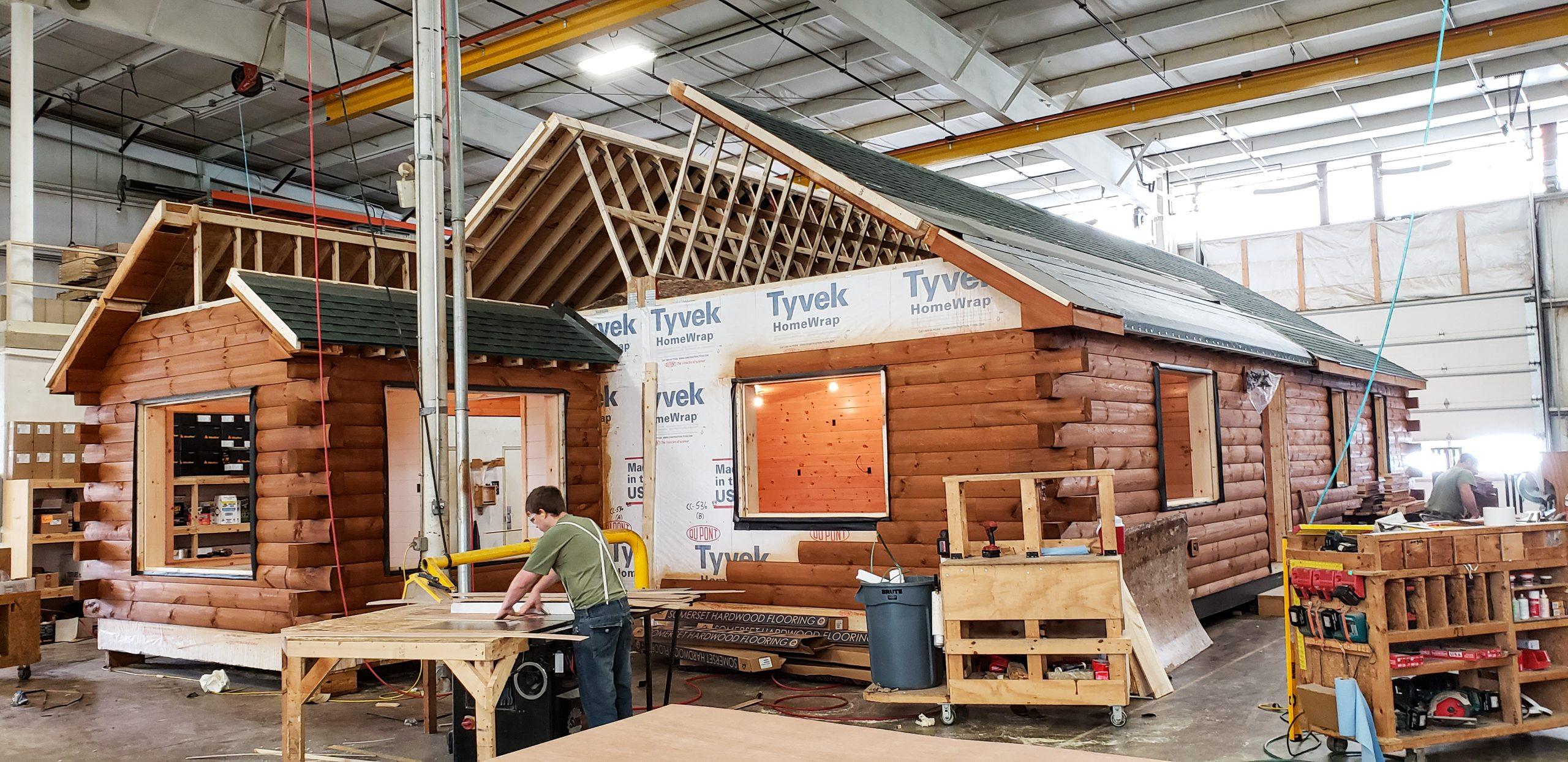 building cabin in jefferson new hampshire