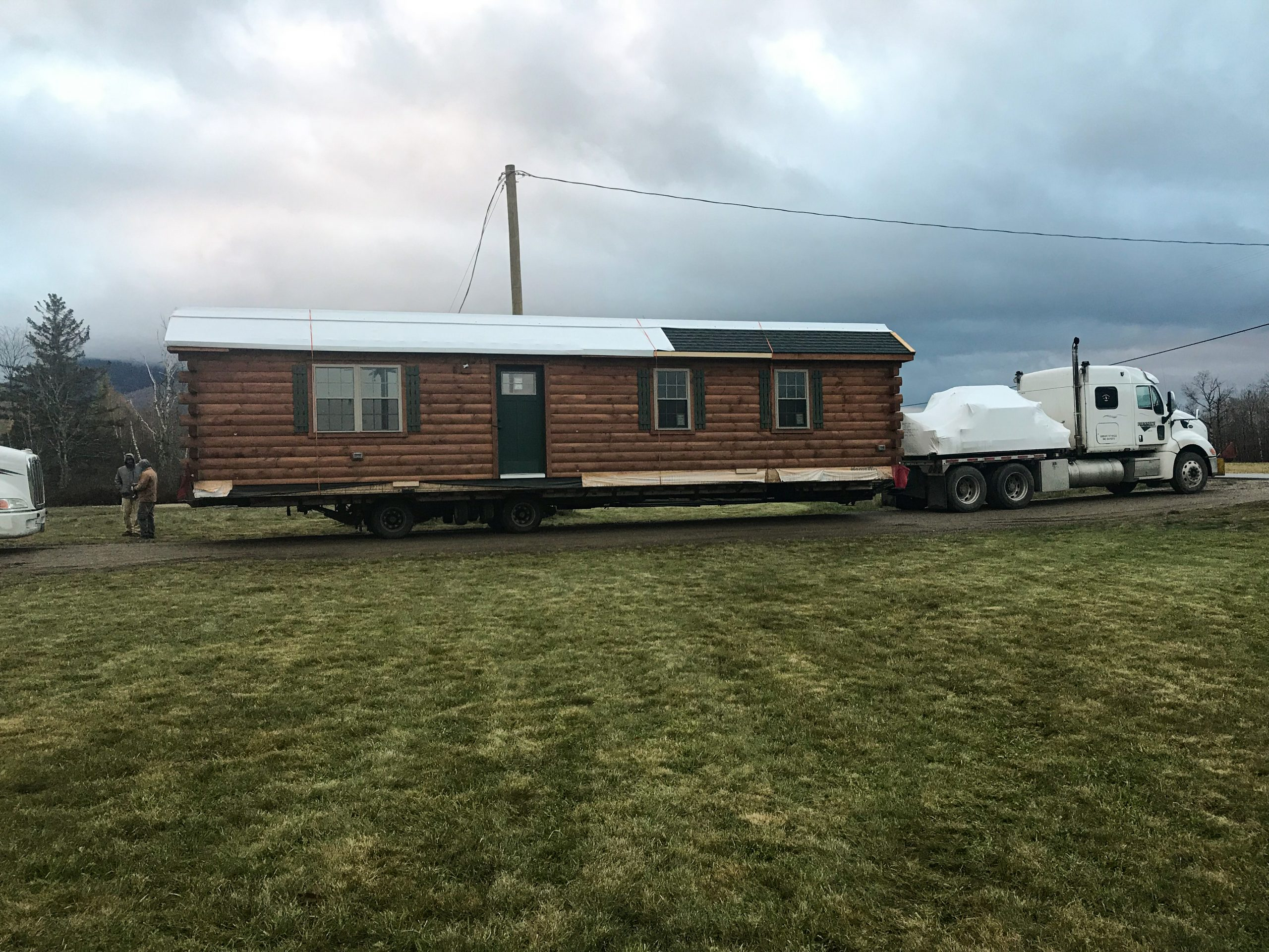 delivery cabin in jefferson new hampshire