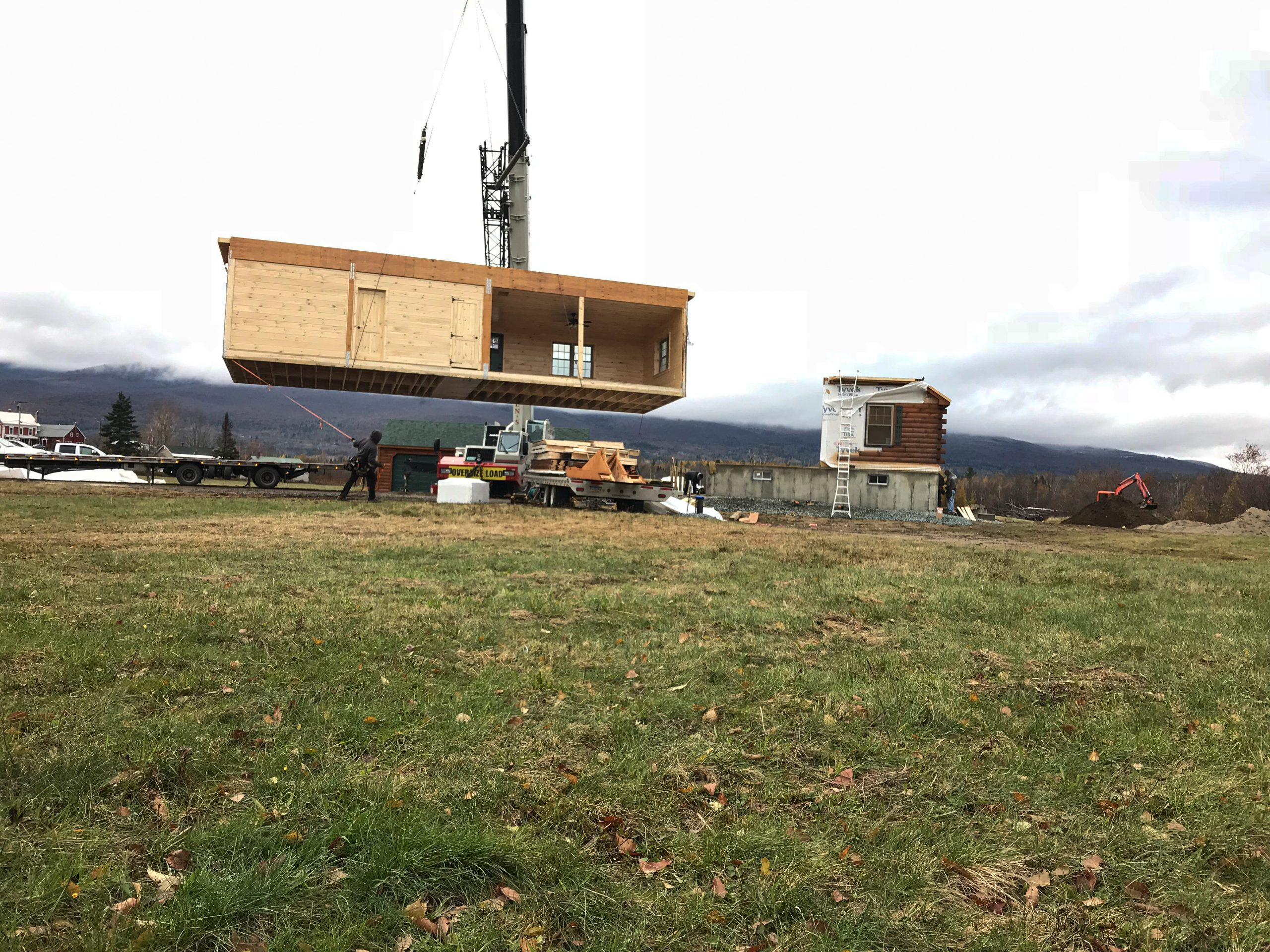 lifting cabin in jefferson new hampshire