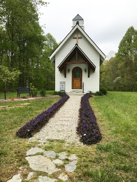 chapel at cabin in oldenburg indiana