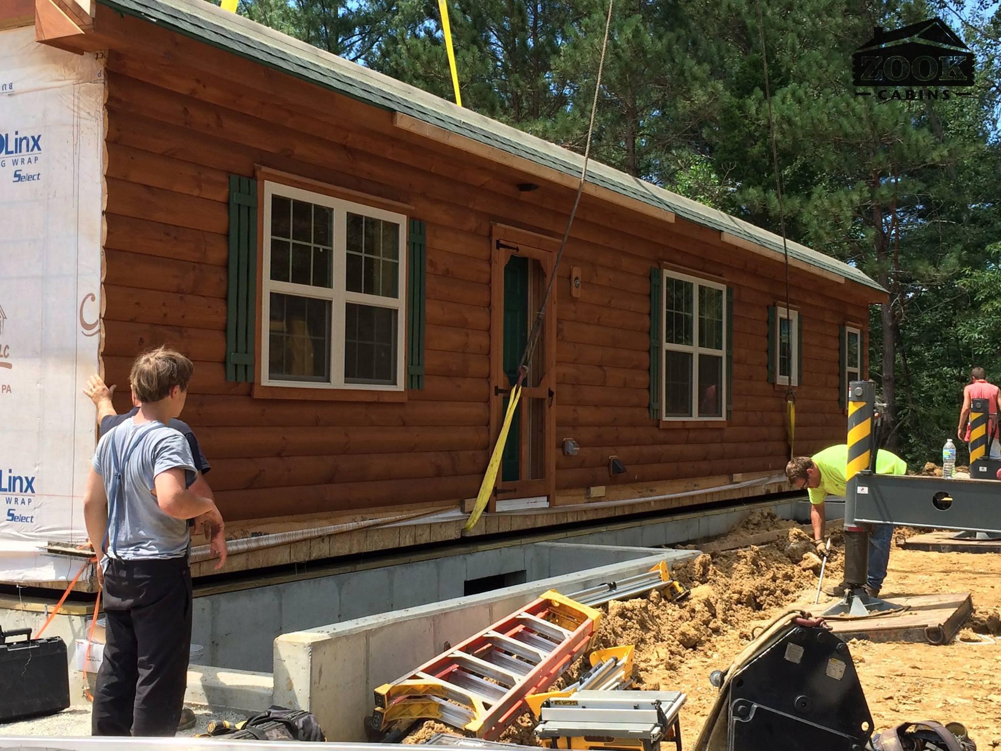 constructing cabin in oldenburg indiana