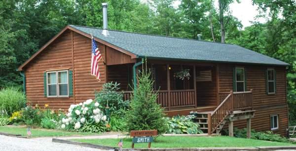 staff house cabin in oldenburg indiana