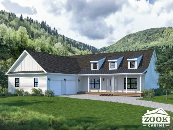 The Homestead Farmhouse Style Modern Cabin