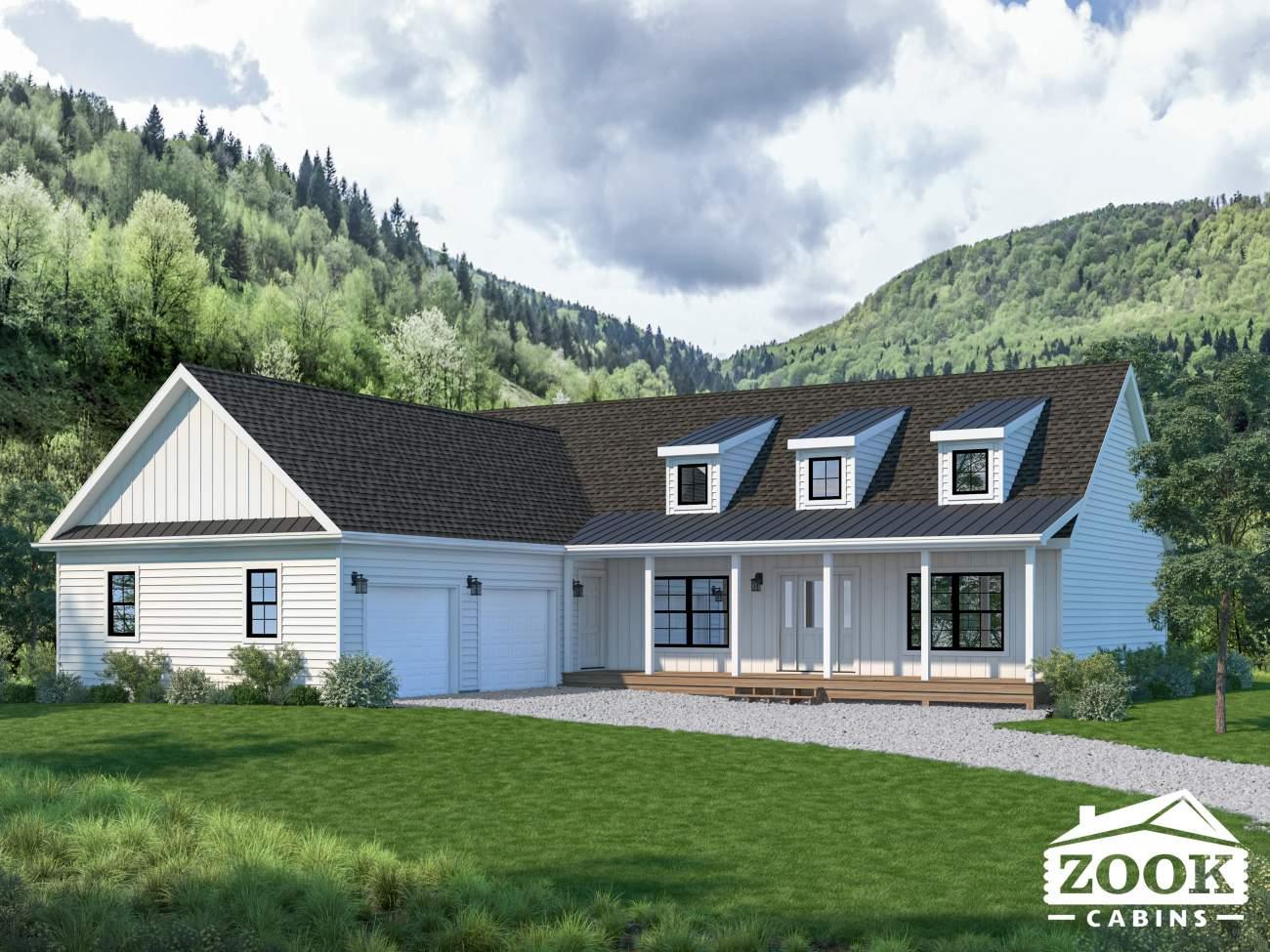 Homestead Modern Cabin Zook Cabins