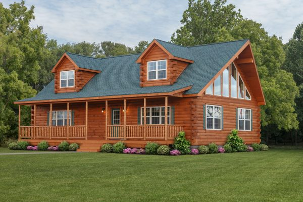 modular log homes prices for mountaineer deluxe