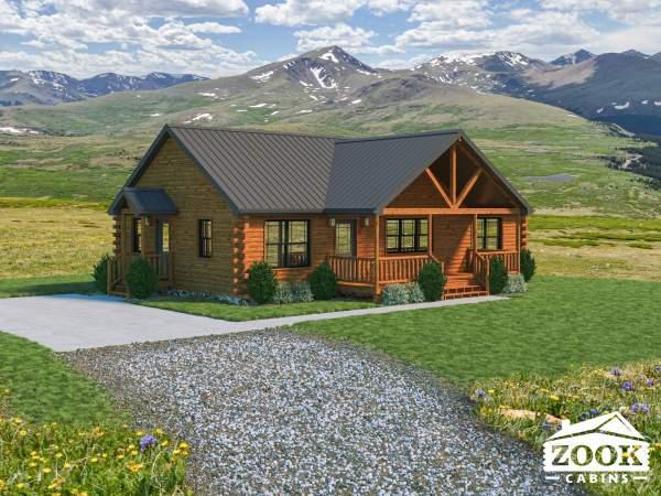Sunset Ridge Log Cabin Featured Image