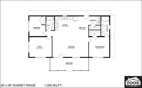 26x50 Sunset Ridge 04 01 2021 1st Floor Literature plan