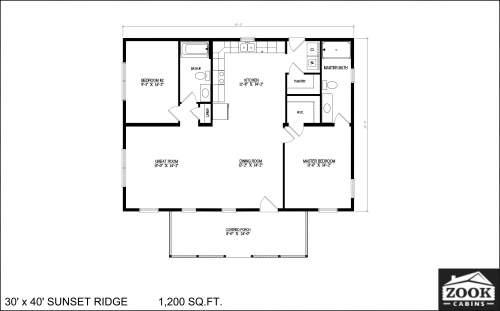 30x40 Sunset Ridge 04 05 2021