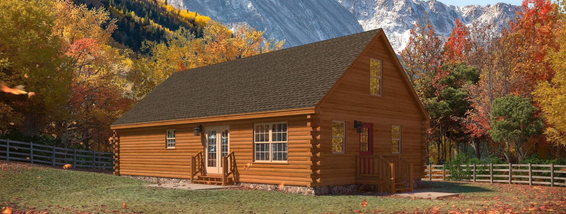 The Timberline Log Cabin