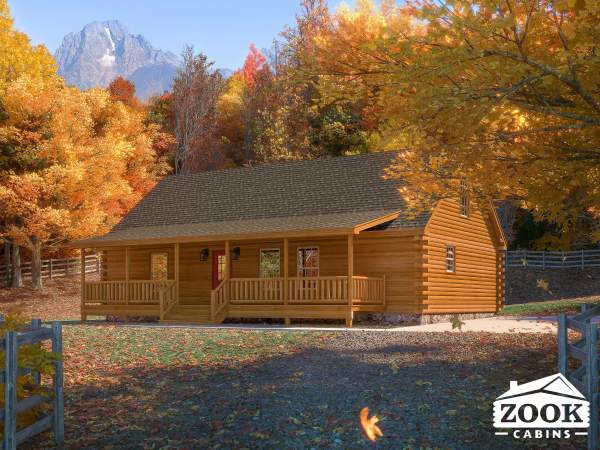 The Timberline Log Cabin Featured Image 1