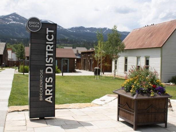 arts district in breckenridge colorado