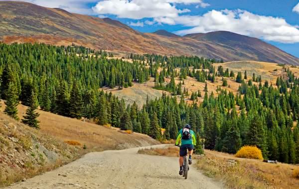 biking for cabin in breckenridge colorado