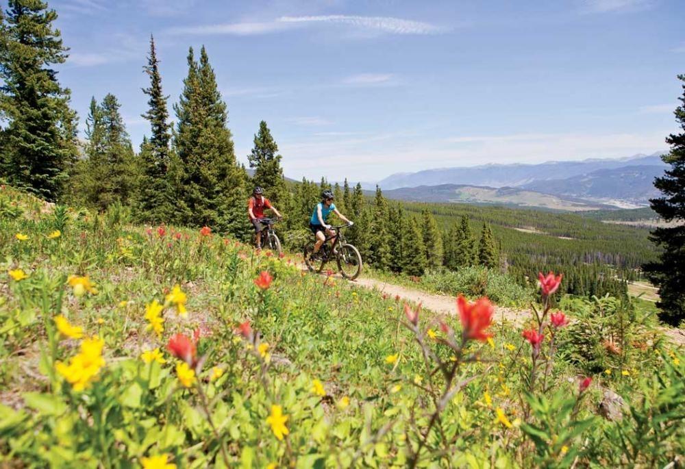 exciting bike trails in breckenridge colorado