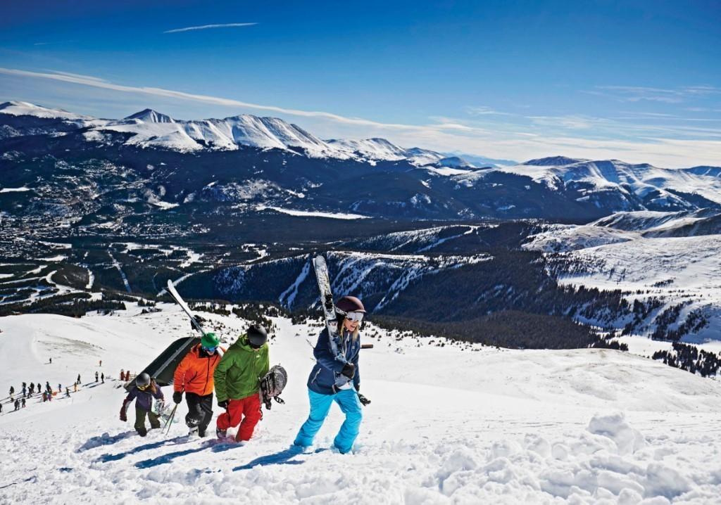 go skiing in breckenridge colorado