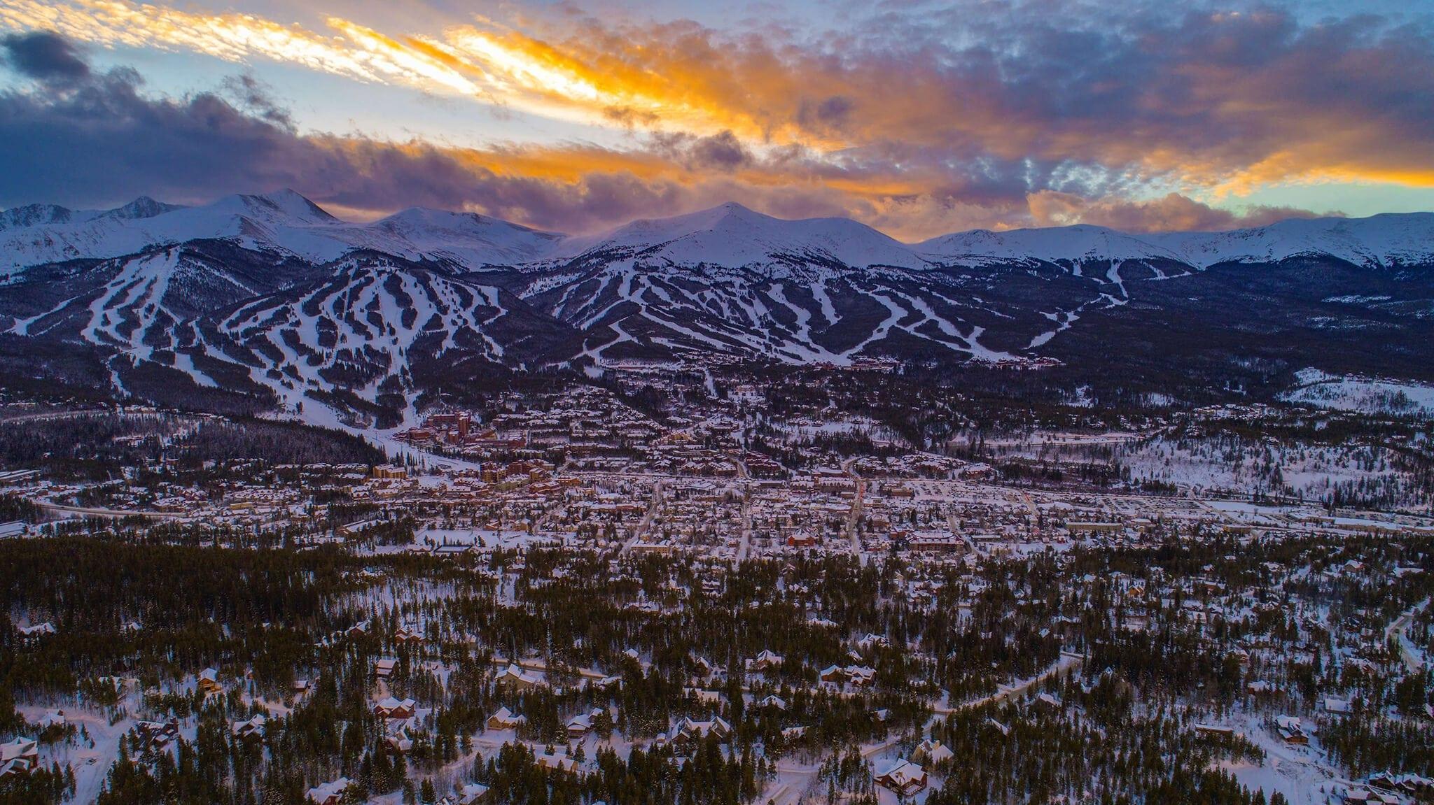 mountains in breckenridge colorado