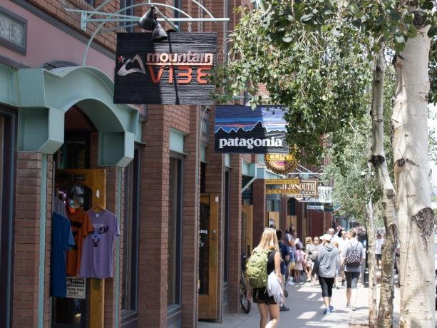 various shops in breckenridge colorado