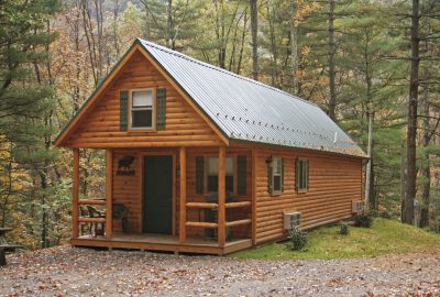 buy luxury log cabin home adirondack in pa