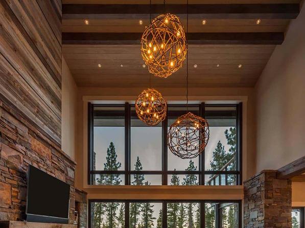 Modern Mountain Style Interior Design
