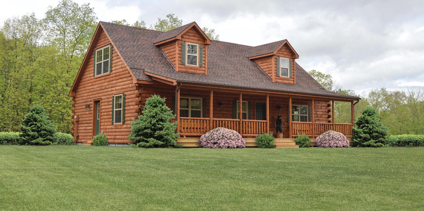 modular log homes near me pa