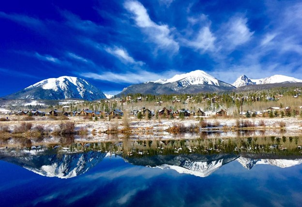 Beautiful Silverthorne Colorado Setting