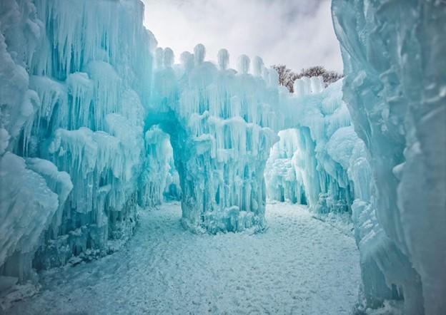 Silverethorne Colorado ice sculpture