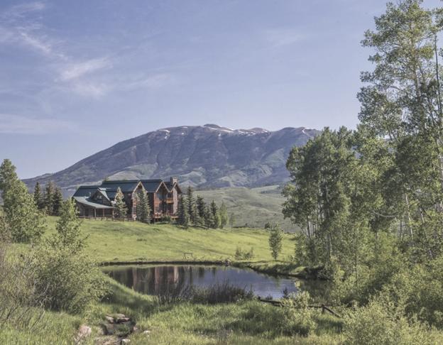Silverethorne Colorado lodge view