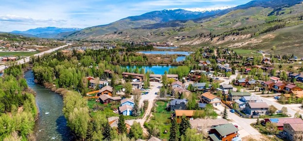 Silverethorne Colorado mountains