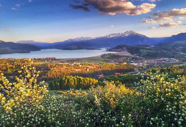 Silverethorne Colorado view