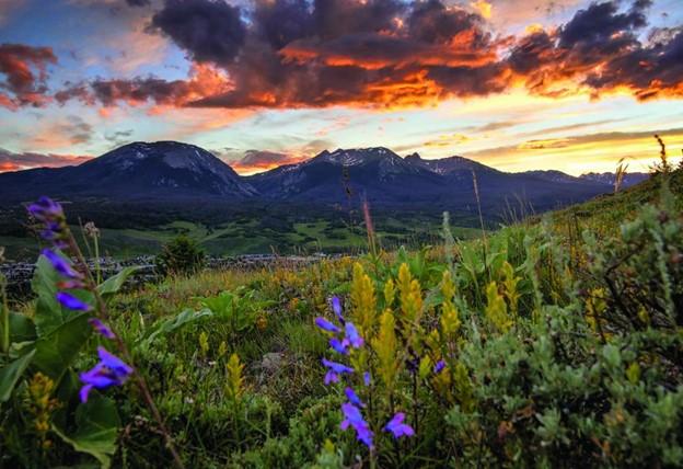 Silverthorne Colorado Sunset