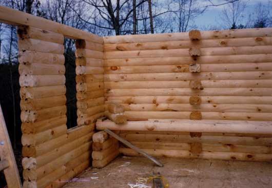 Log cabin home kits prefab log home kits zook cabins diy cabin kit log cabin kit being built solutioingenieria Image collections