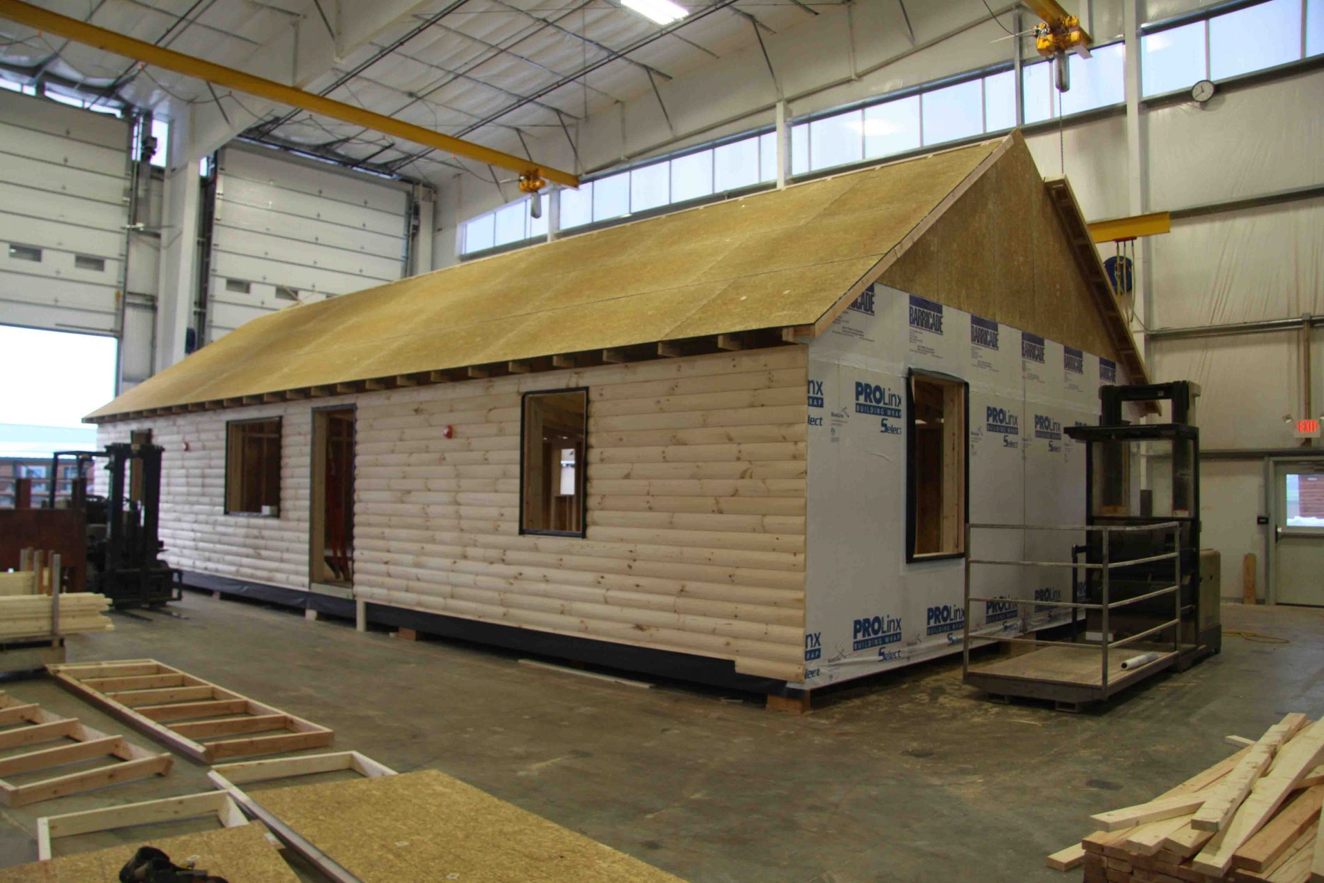 Log cabin home kits prefab log home kits zook cabins for Metal cabin kits