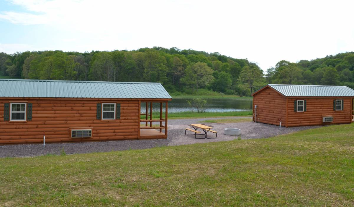 Campground Rustic Log Cabins And Kits For Sale | Zook Cabins