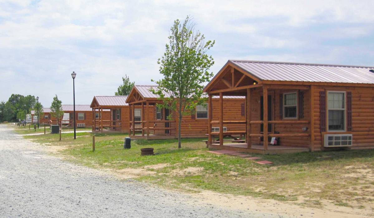 simple cabins for campgrounds